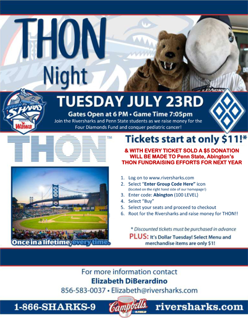 THON Night Camden Riversharks