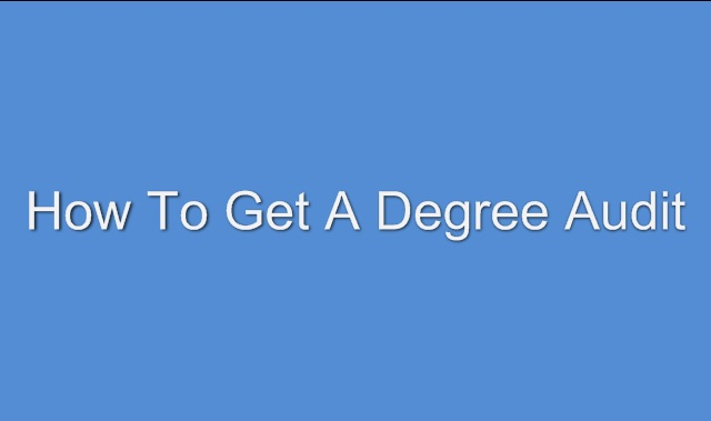 Degree Audit