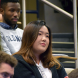 Woman student in audience