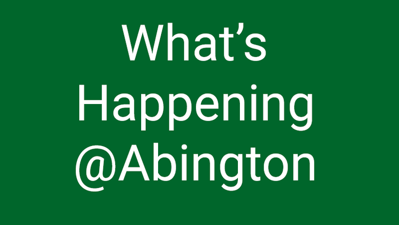 what's happening at abington