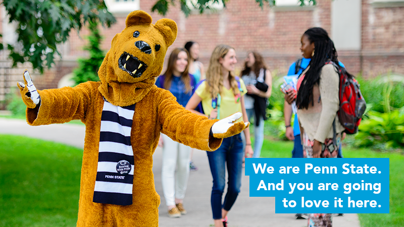 We are Penn State Lion and students
