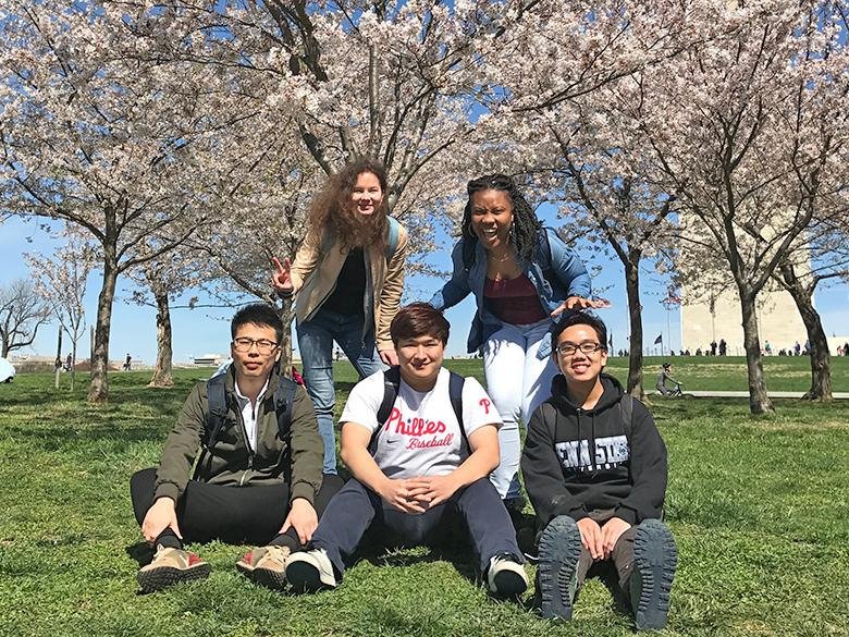 International students in Washington, DC