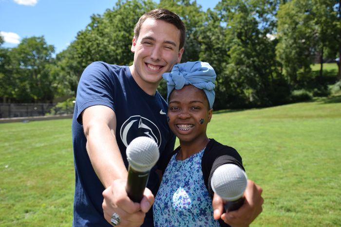 Abington student leaders