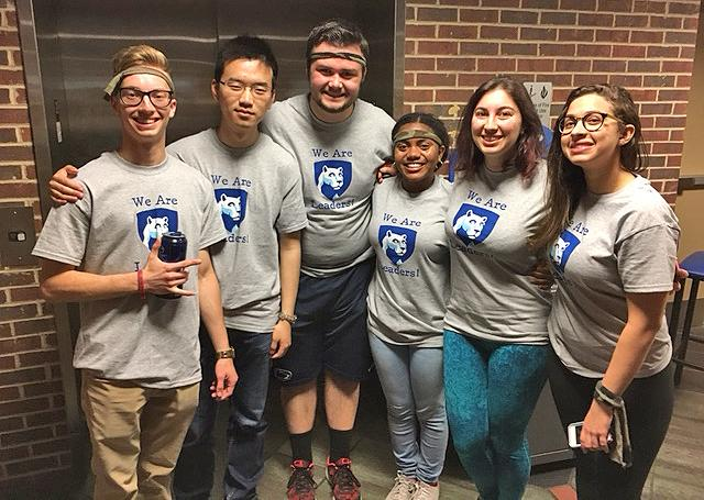 Penn State Abington Leadership Team Students