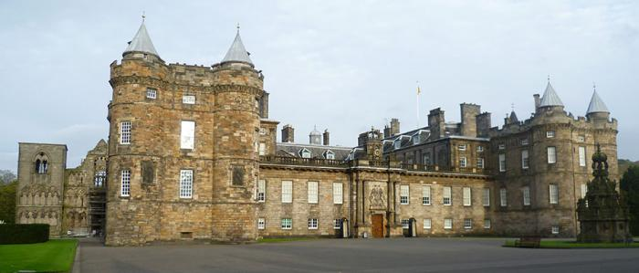 Palace of Holyroodhouse in Edinburgh