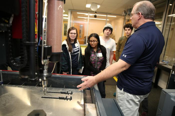 engineering lab at Great Valley