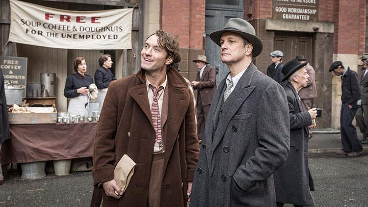 Jude Law and Colin Firth.