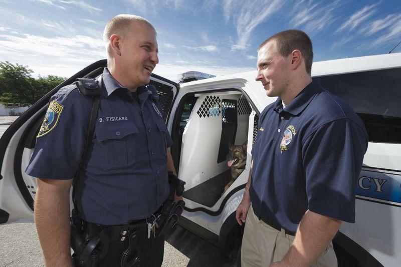 Abington police intern