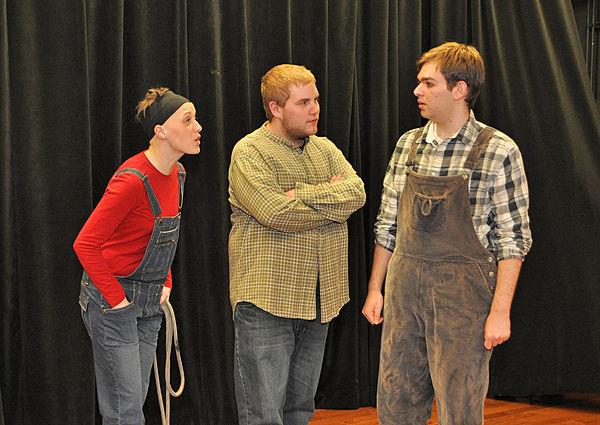 Scout, Dill, Jem (Rachel Sweeny, Ryan Mich, Harris Bernstein)
