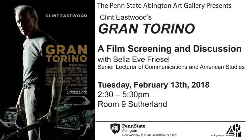 "Film Screening and Discussion: ""Gran Torino"""