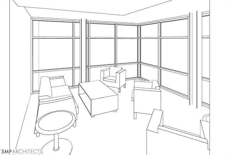 residence hall lounge