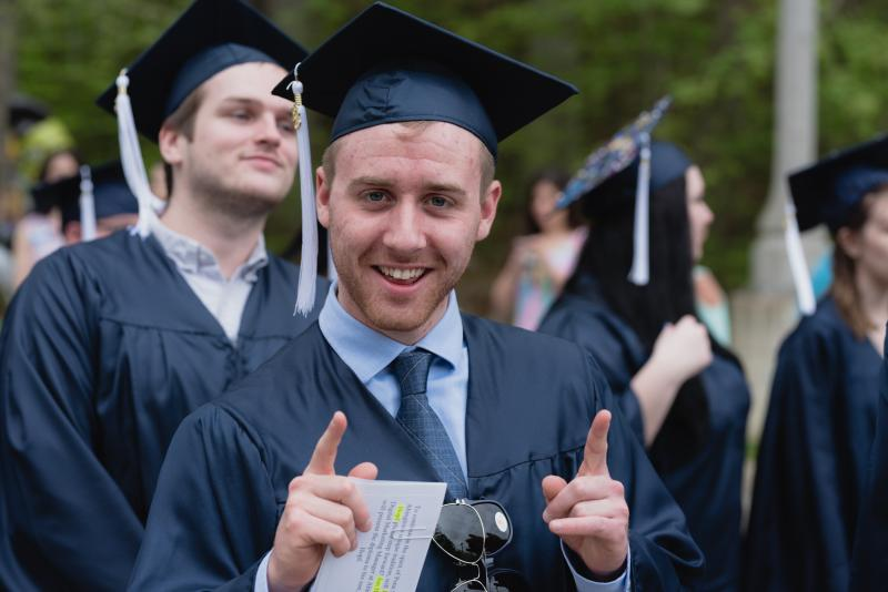 Abington spring graduation 2018