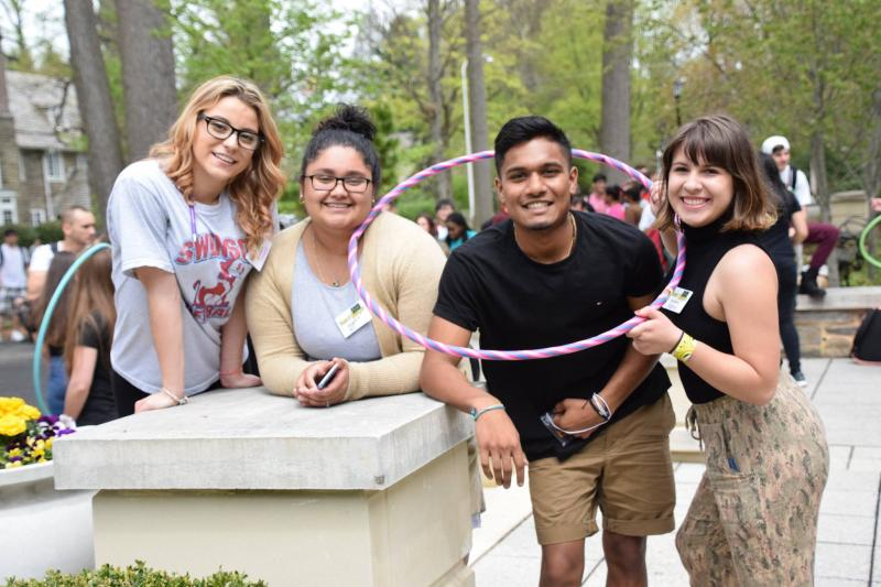 Spring fest campus traditions