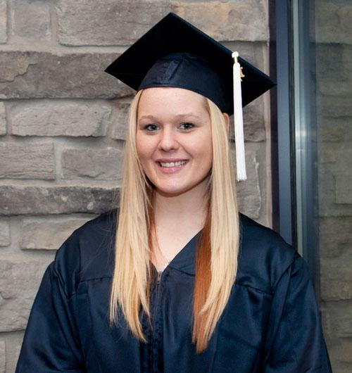 Krysten Boyd, ('12) pursuing Masters in Public Health at Arcadia U