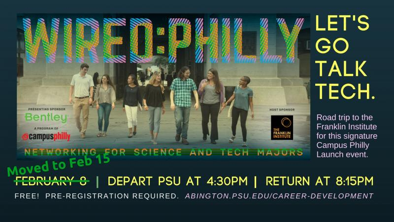 Wired Campus Philly Rescheduled