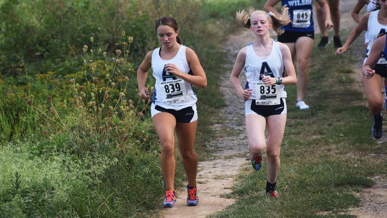 Penn State Abington Women's Cross Country Runners
