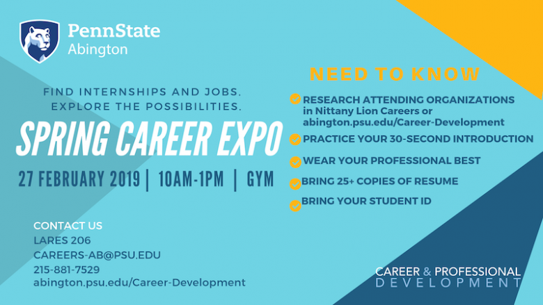Spring 2019 Career Expo