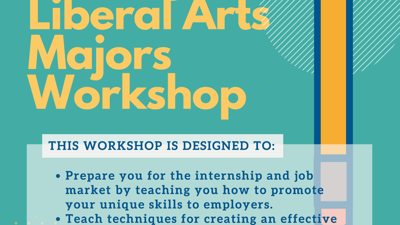 Resume Writing for Liberal Arts Majors Workshop