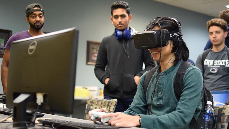 Virtual Reality student