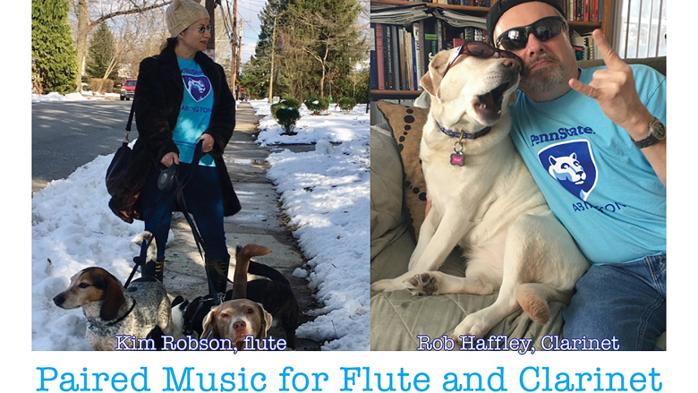 Who Wore It Better?...Paired Music for Flute and Clarinet