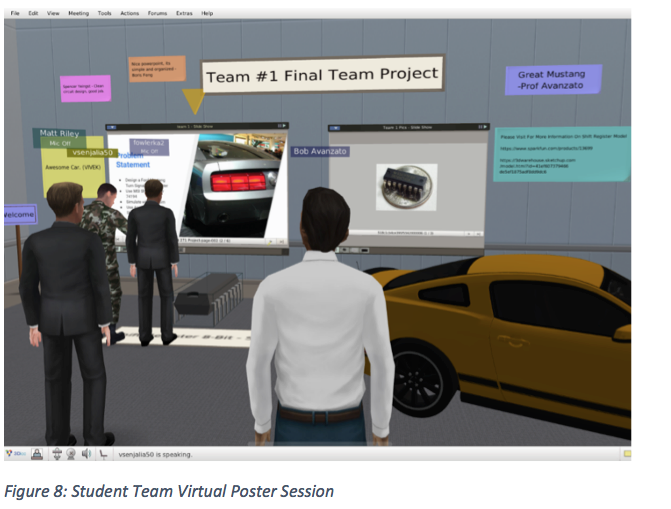 Student team virtual poster session Abington
