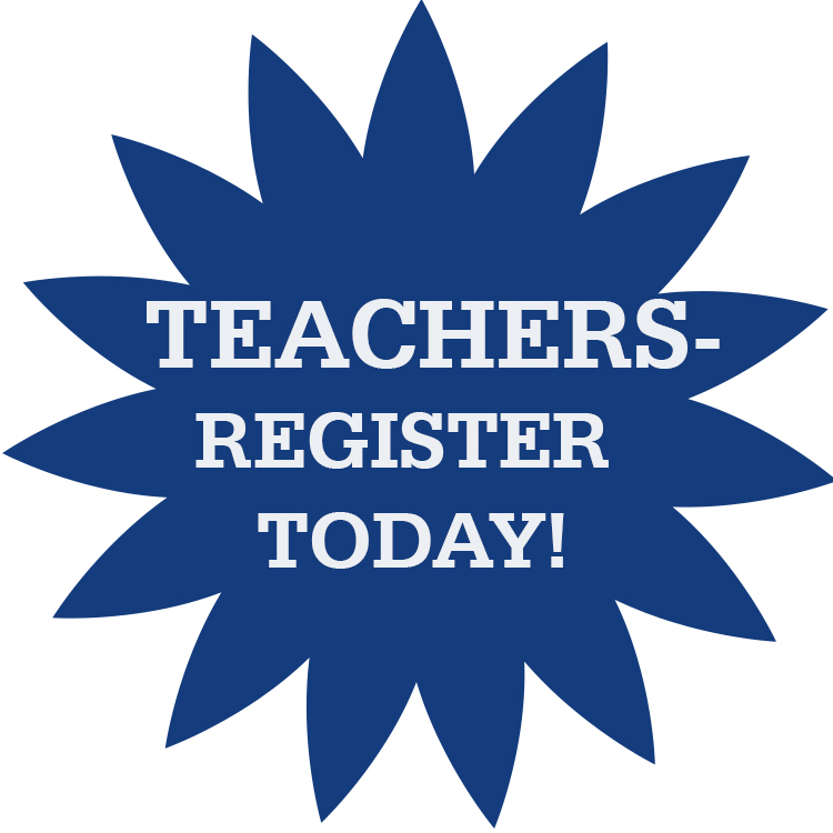 Teachers - Register Today