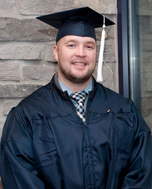 Brian Geisler ('12, English) graduate studies, Univ of Pittsburgh