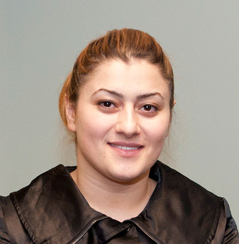Khamida Badalov ('12) graduate studies
